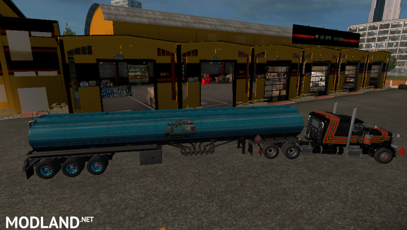 Teknos Ownable Tanker mod for American Truck Simulator, ATS