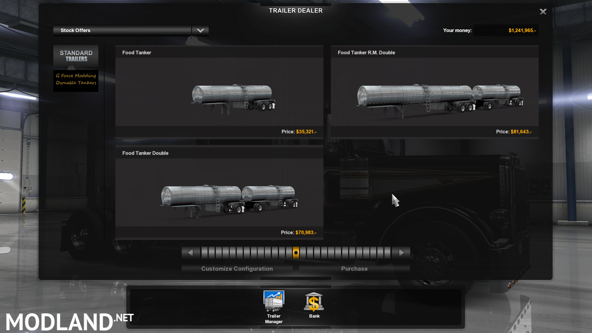 Ownables Food Tankers Mod For American Truck Simulator Ats