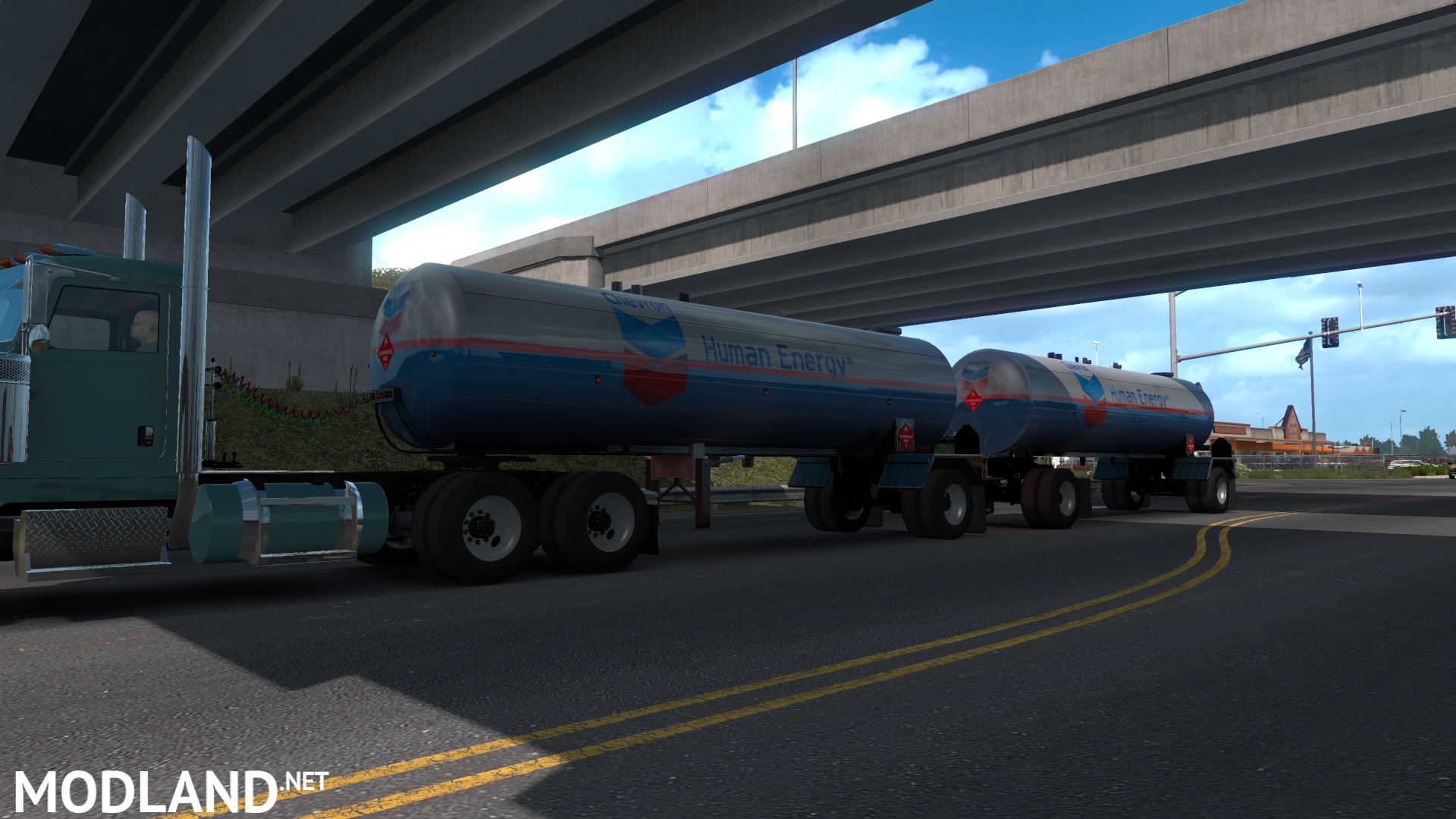 Ownable Tanker Trailers mod for American Truck Simulator, ATS