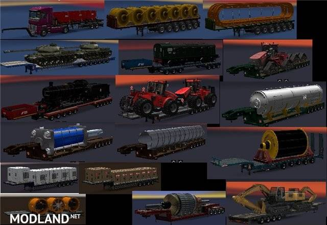 Addon for the Chris45 Trailer Pack 9 09 for ATS mod for