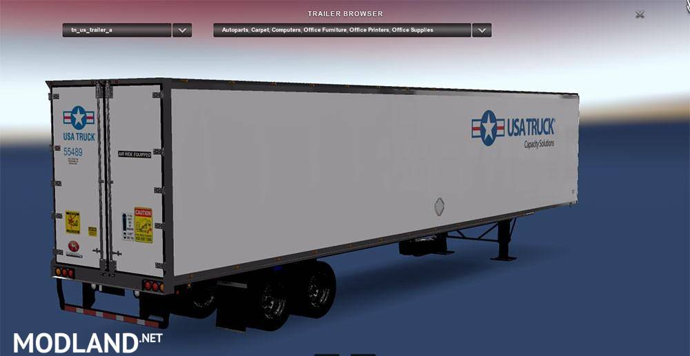 DC-USA Truck Trailer for ATS mod for American Truck ...