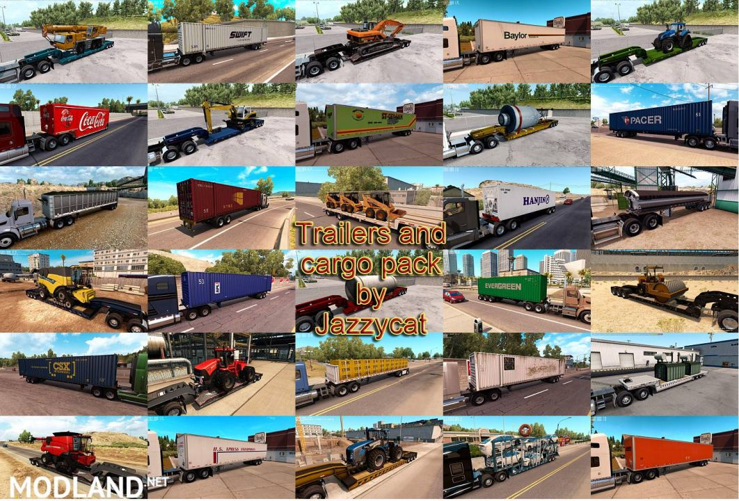 Trailers and Cargo Pack by Jazzycat