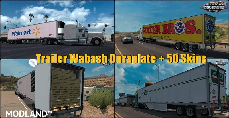 Trailer Wabash Duraplate