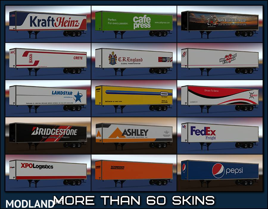 New USA Trailers Pack