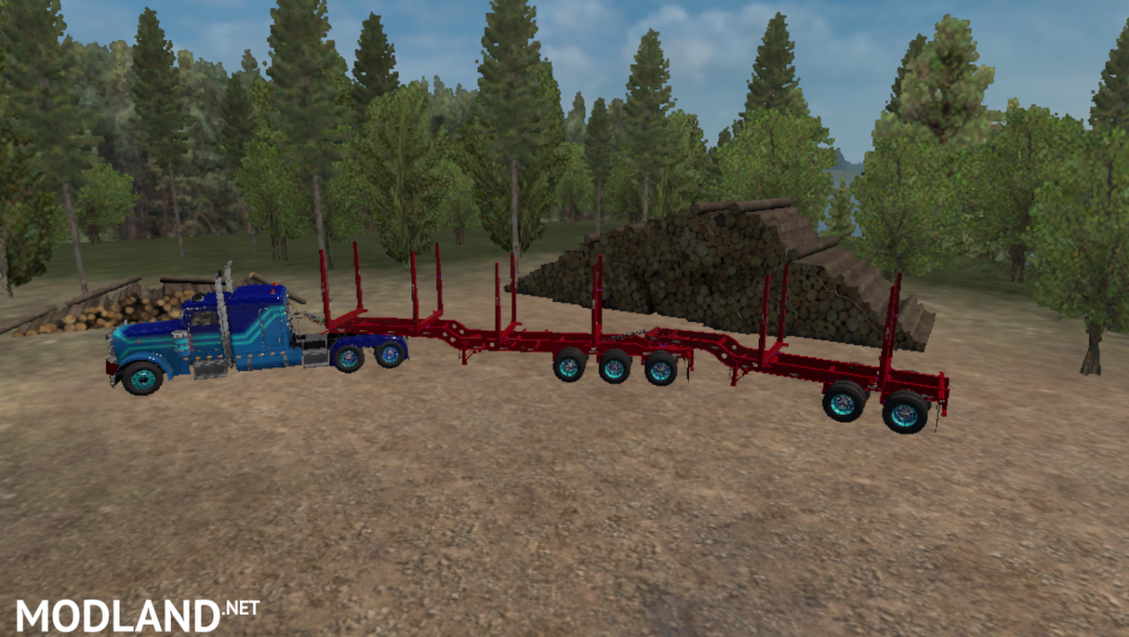 Ownable Arctic Logging Trailer (1.32.x)