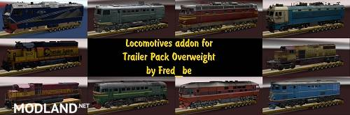 Addon for the Trailer Pack Overweight V1.30 for ATS