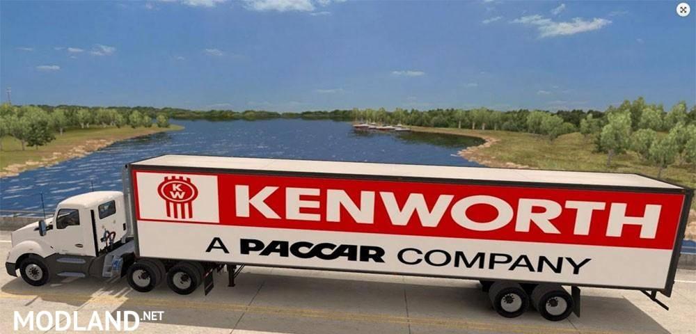 Standalone Kenworth trailer