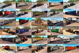 Trailers and Cargo Pack by Jazzycat v 2.2.2 - External Download image