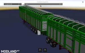Pack double trailers for ATS, 4 photo