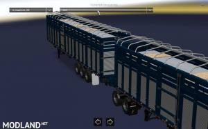 Pack double trailers for ATS, 5 photo