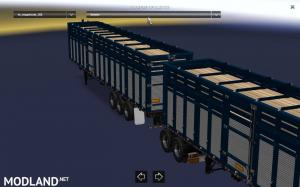 Pack double trailers for ATS, 7 photo