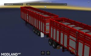 Pack double trailers for ATS, 10 photo