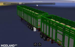 Pack double trailers for ATS, 6 photo