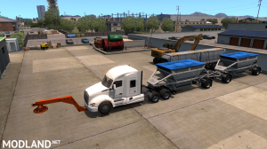 Tow truck broken trailer 1.37, 3 photo