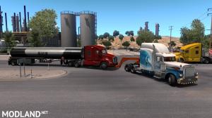 Tow truck broken trailer 1.37, 2 photo