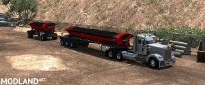 SmithCo Side Dump Double Trailer v1.2 1.36, 4 photo