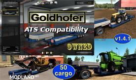 ATS Compatibility Addon for Goldhofer Trailer, 1 photo