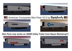 American Companies 3000R Utility Skin Pack v 2.0, 1 photo