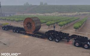 Long Oversized Trailer Magnitude 55l with a Load Coil