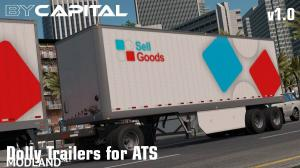 Dolly Trailers for ATS ByCapital v1.0