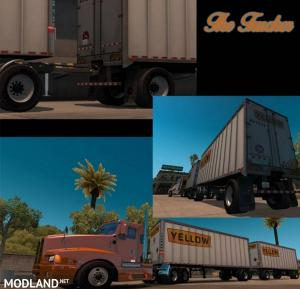 Double Box Trailer for ATS