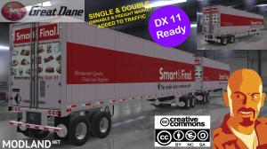 GREAT DANE TRAILERS SINGLE & DOUBLES OWNABLES 1.35.x & DX11 - External Download image