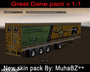 Great Dane 48 Double Trailer ATS New Skin v 1.1, 2 photo