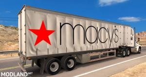 Macy's Standalone Curtain Trailer - External Download image
