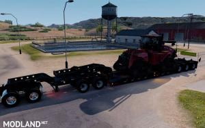 Oversized Trailer Magnitude 55l with load Tractor for ATS, 1 photo