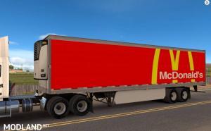 McDonald's Reefer Trailer