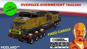 OVERSIZE-OVERWEIGHT TRAILERS U.S.A. 1.33.x FIXED