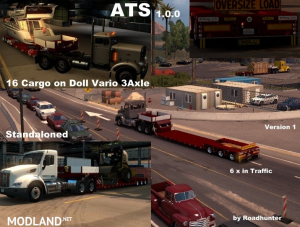 Doll Vario 3 Axle Trailer v 1.0, 1 photo