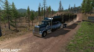 Artic Logging Trailer for ATS 1.35, 2 photo