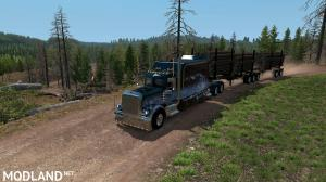 Artic Logging Trailer for ATS 1.35, 3 photo