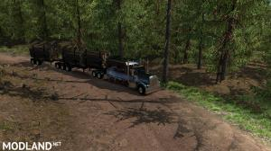 Artic Logging Trailer for ATS 1.35, 4 photo