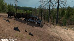 Artic Logging Trailer for ATS 1.35, 1 photo