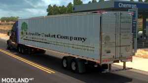 Batesville Casket Company Long Trailers, 2 photo