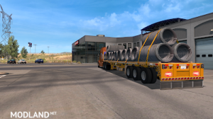 Flatbed ferbus owned ATS 1.33 mudflaps animations!, 19 photo