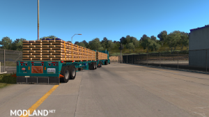 Flatbed ferbus owned ATS 1.33 mudflaps animations!, 17 photo