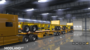Flatbed ferbus owned ATS 1.33 mudflaps animations!, 13 photo