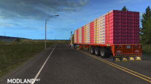 Flatbed ferbus owned ATS 1.33 mudflaps animations!, 15 photo