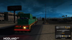 Flatbed ferbus owned ATS 1.33 mudflaps animations!, 16 photo