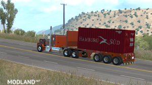 Flatbed ferbus owned ATS 1.33 mudflaps animations!, 11 photo