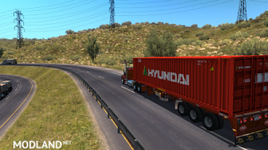 Flatbed ferbus owned ATS 1.33 mudflaps animations!, 10 photo