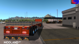 Flatbed ferbus owned ATS 1.33 mudflaps animations!, 9 photo