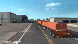Flatbed ferbus owned ATS 1.33 mudflaps animations!, 8 photo