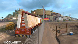 Flatbed ferbus owned ATS 1.33 mudflaps animations!, 6 photo