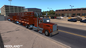 Flatbed ferbus owned ATS 1.33 mudflaps animations!, 4 photo