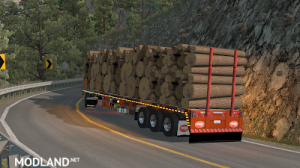 Flatbed ferbus owned ATS 1.33 mudflaps animations!, 5 photo
