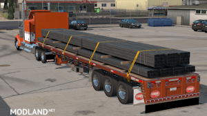 Flatbed ferbus owned ATS 1.33 mudflaps animations!, 7 photo